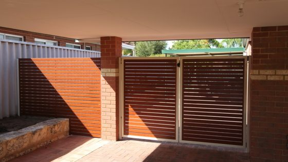 Kate's Gate - Timber Effect Slats