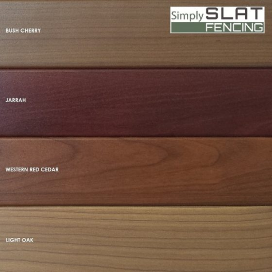 Wood Look Aluminium Fence Slats